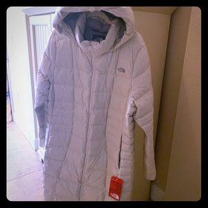 North Face Long Down Coat